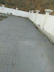 Stamp Concrete Flooring
