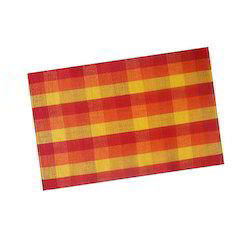 Multicolor ribbed placemat Checked Rib Table Mat, Packaging Type: Roll Pack, Size: 33x45 Cms