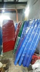 E-rickshaw roof fiber