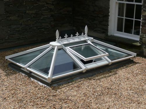 Glass Roof Skylight At Rs 450 Square Feet Skylights