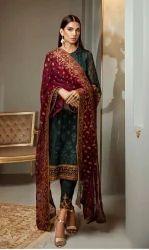 Chiffon Party Wear Pakistani Suits