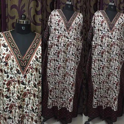 Ladies Printed Kaftan