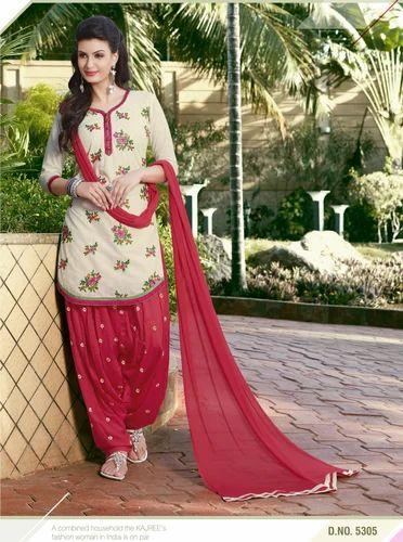80436f8e14 KVS Fab Cotton Patiala Readymade Suit, Machine Wash, Rs 1050 /set(s ...