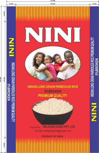 Rice Bags - Non Basmati Rice Packing Bags Exporter from Surat