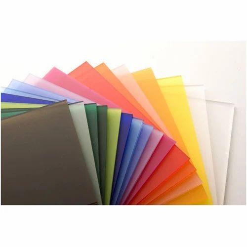 Color Pvc Sheet रंगीन प्लास्टिक शीट Starco Metaplast