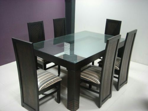 Glass Dining Table Set Bedroom Bathroom Kids Furniture