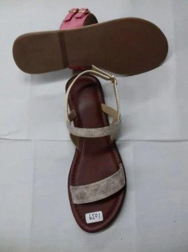 652196adb191f First Step Foot Wear - Manufacturer of Ladies Sandal   Ladies Fancy ...