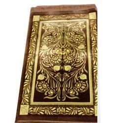 Fab Export International Woolen Gold Work Prayer Carpet