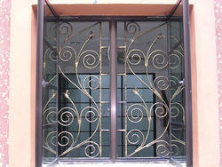 Iron Window Grill Fancy Designs At Rs 250 Square Feet S Shaikpet