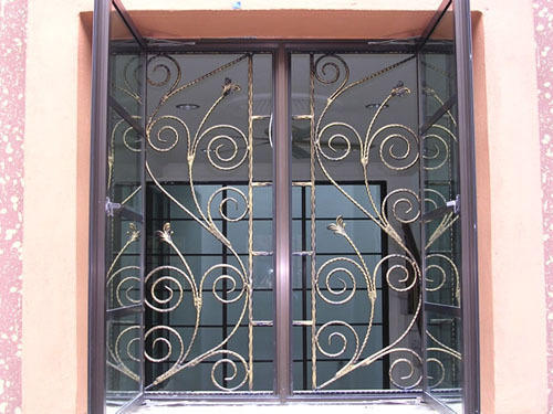 Iron Window Grill Fancy Designs At Rs 250 Square Feets Shaikpet