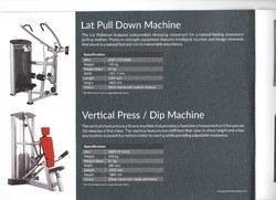 Lat Pull Down, for Gym