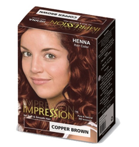 Copper Brown Shade Hair Color For Personal Id 13624642455