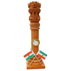 Ashoka Stambh Table Clock WC098