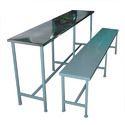 Steel School Bench