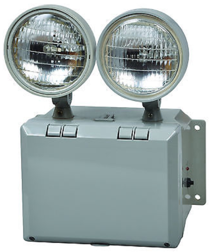 Fire safety emergency light