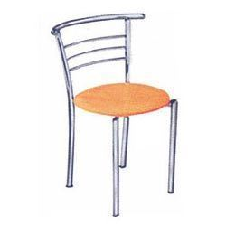 Merveilleux Stainless Steel And Iron Dining Chair