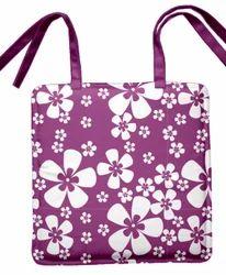 Flower Print Chair Pad