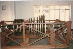 Polishing of Rotor Shaft