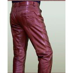 Waxy Finish Sheep Leather Trouser