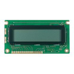 Alphanumeric LCD Display