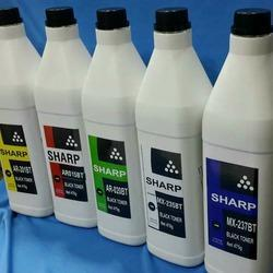 Sharp Ar202 Mx235at Mx237at Toner Powder Bottle, Pack Size: 475 G