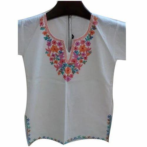 Kashmiri Embroidery Kurtis At Rs 580 Piece S ब ट द र