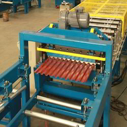 Corrugated Steel Sheet Forming Machine