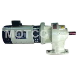 Micromot Controls Single Phase Gear Motor, 10rpm To 500rpm, Voltage: 12 Vdc