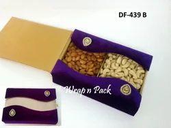 Velvet Box For Dry Fruit, Sweets