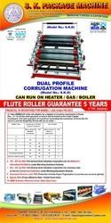Dual Profile Corrugation Machine