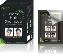 Dexe Black Hair Dye Shampoo