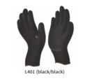 Nylon or Polyester Gloves with Crinkled Latex Coating