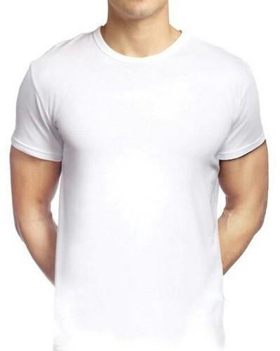 2a9912379e1b1 Sublimation Men White T Shirt