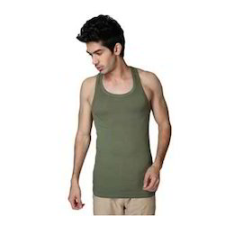 Cotton Singlet Sleeveless Vests