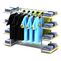 MS Store Garment Display Rack