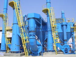 Pulse Jet Dust Collector with Centrifugal Fan