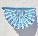 Mandala Round Beach Indian Printed Tapestry