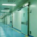 Hermetically Sealed Hospital Door