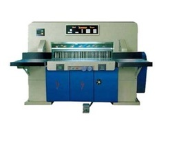 Hydraulic Paper Cutting Machine Manufacturers, Suppliers & Exporters