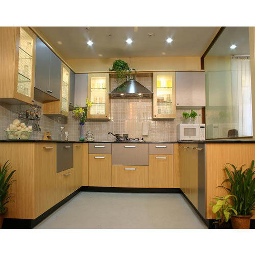Indian Kitchens Modular Kitchens: Kitchen Cabinet At Rs 2000 /unit