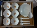 Plastic Snacks Serving Bowl (set Of 24)