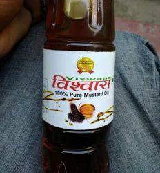 Yellow Viswaas Mustard Oil, 3252776