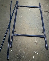 H Frame With Cross Bracing