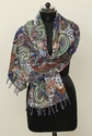 Indian Kantha Cotton Scarf Dupatta Bandana Paisley