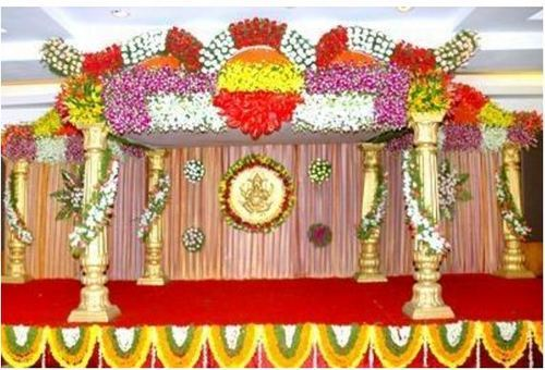 Wedding Services Wedding Flower Decoration Service Provider from