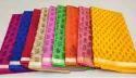 Mixed Supernet Doria Saree Cotton Super Net Kota Digital Printed Saree, Blouse Size: Full Size, Size: Full Size