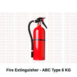 Fire Extinguisher - ABC Type 6 KG