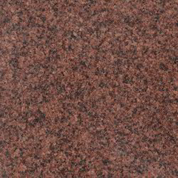 Flamed Thick Slab Bruno Red Granite, for Flooring, Thickness: 15-20 mm