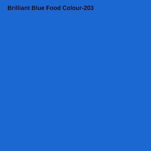 Brilliant Blue Food Colour