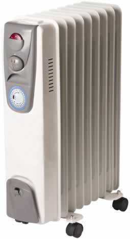 Electric Oil Filled Radiator View Specifications